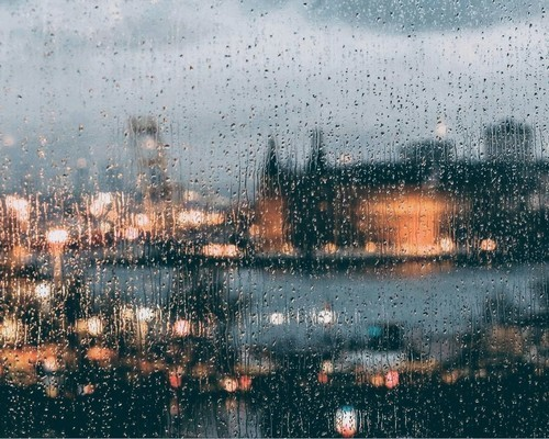 rain, article, and city image