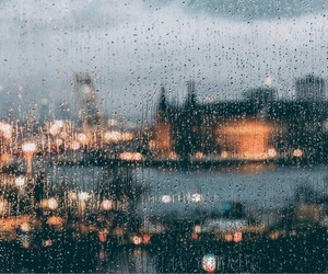 rain, city, and article image