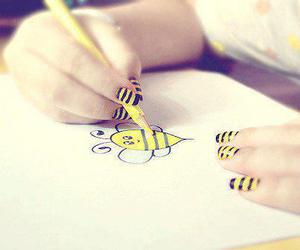 bee and nails image