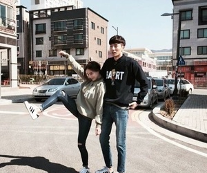 couple, darling, and korean image