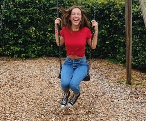 boyfriend, swing, and happy image