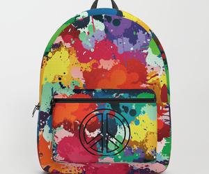 colorful, peace, and gift idea image