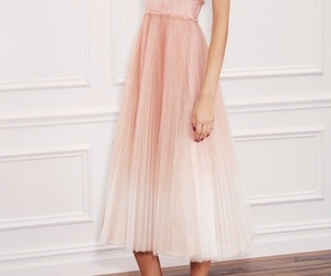 dress, pink, and beautiful image