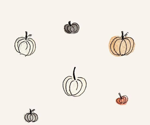 wallpaper, pumpkin, and autumn image