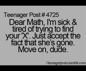 funny, math, and ex image