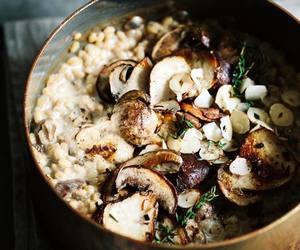 barley, cream, and garlic image