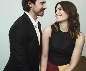 couple, Milo Ventimiglia, and this is us image