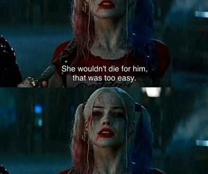 harley quinn, suicide squad, and love image