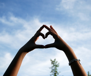 hands, tiffany, and heart image