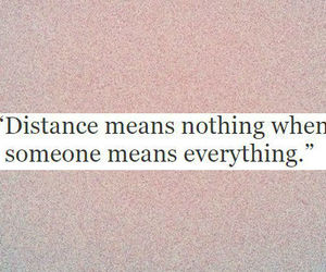 distance, everything, and feelings image