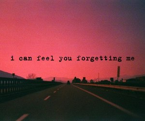 beautiful, feelings, and forget image