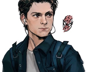 spiderman, Marvel, and peter parker image