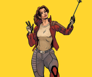 x-men, Marvel, and kitty pryde image