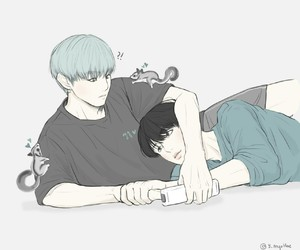 kpop, cute, and art drawing image