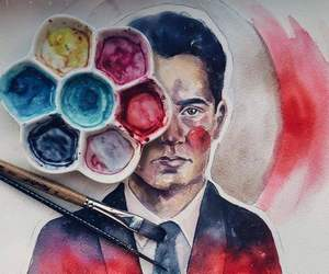 art, colors, and Kyle MacLachlan image
