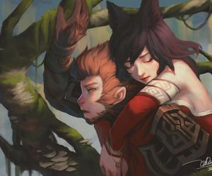 ahri, wukong, and league of legends image