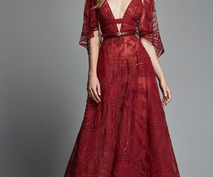 red, Zuhair Murad, and dress image