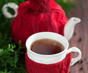 tea, christmas, and winter image