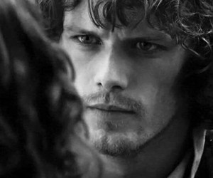 outlander, jamie fraser, and sam heughan image