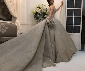 chic, glamour, and long image