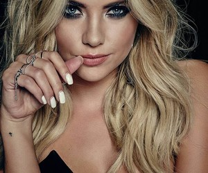 actor, blonde, and ashley benson image