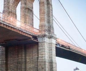 bridge, iphone wallpaper, and city image