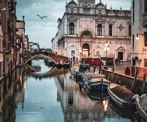 venice, travel, and beautiful image