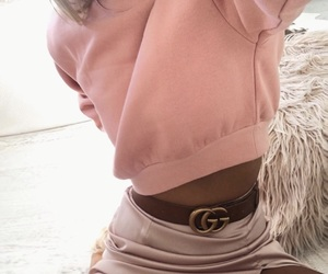 baby pink, fashion, and gg image