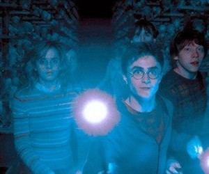 harry potter, magic, and ron weasley image
