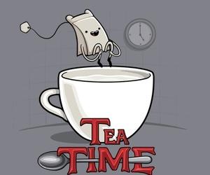 tea, adventure time, and tea time image