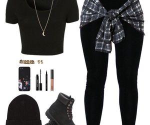 fashion, grunge, and badgirl image