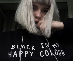 black, girl, and aesthetic image