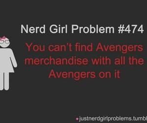 nerd girl problem