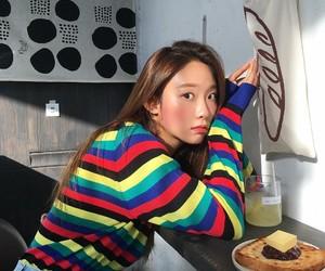 cafe, kfashion, and pastel image