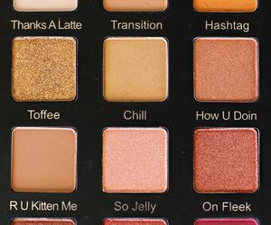 beauty, makeup, and eyeshadows image