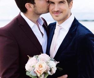daniel, Joey, and wedding image
