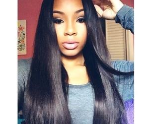 hair, makeup, and aaliyahjay image