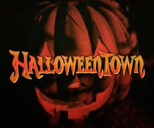 fall, autumn, and halloweentown image