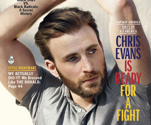 chris evans, esquire magazine, and photoshoot image