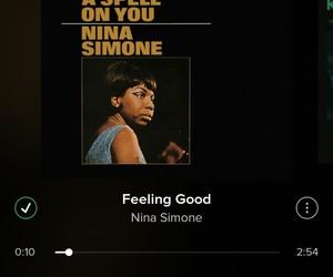 music, nina simone, and song image