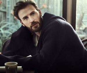 actor, chris evans, and esquire magazine image