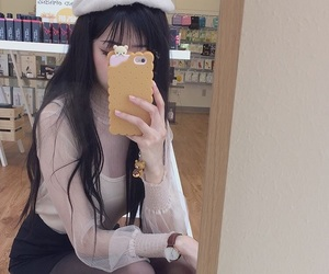aesthetic, asian girl, and korea image