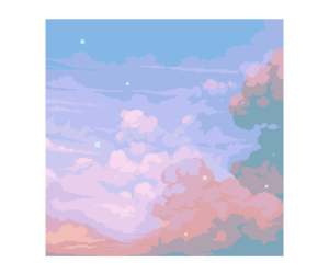 art, clouds, and pastel image