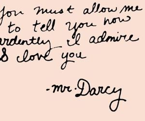 quotes, pride and prejudice, and love image