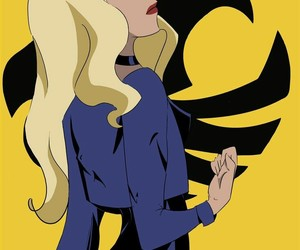 art, Black Canary, and comics image