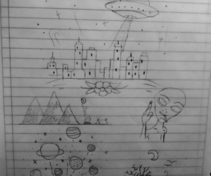 dibujos, alternativo, and alien image
