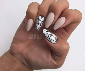 manicure, design, and nails image