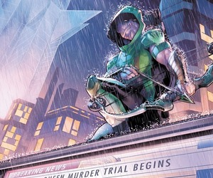 dc comics, green arrow, and oliver queen image