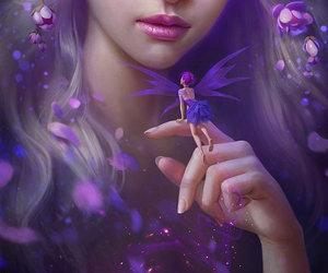 art, fairy, and fantasy image