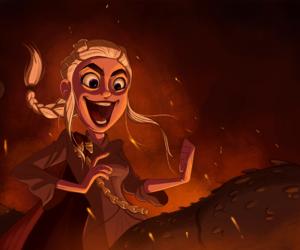 game of thrones, daenerys targaryen, and house targaryen image